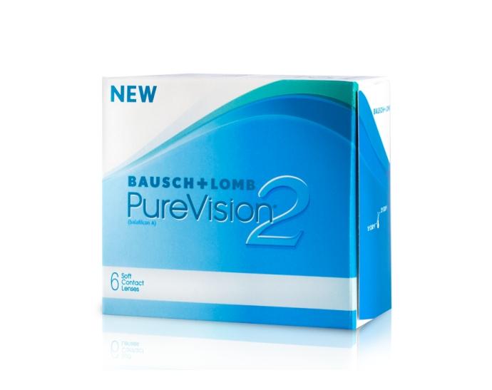 bausch lomb purevision 2 hd boite de 6 lentilles. Black Bedroom Furniture Sets. Home Design Ideas